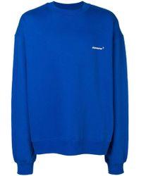ADER error - Oversized Logo Sweatshirt - Lyst