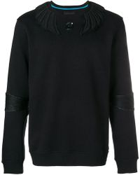 Frankie Morello - Appliqué Detailed Sweatshirt - Lyst