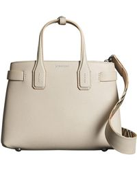 Burberry - The Small Banner In Leather - Lyst