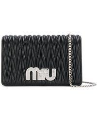 Miu Miu - Small My Miu Quilted Leather Bag - Lyst
