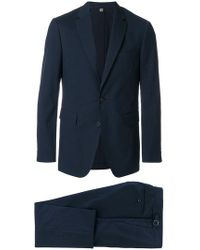 Burberry - Microcheck Slim Fit Suit - Lyst