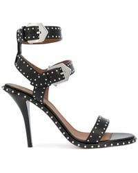 Givenchy - Studded Buckle Strap Sandals - Lyst