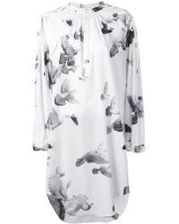 A.F.Vandevorst | Embroidered Shirt Dress | Lyst
