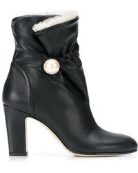 Jimmy Choo - Bethane Shearling Boots - Lyst