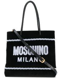 Moschino - Logo Shopper Bag - Lyst