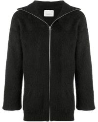 Laneus - Zipped-up Cardigan - Lyst