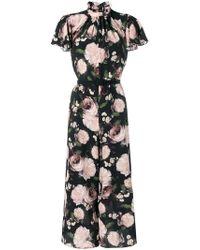 Erdem - Floral Cropped Jumpsuit - Lyst