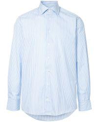 Hardy Amies - Striped Shirt - Lyst