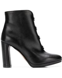Albano - Round Stud Detail Boots - Lyst