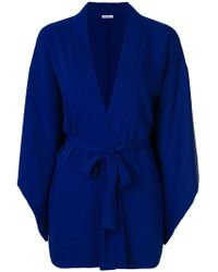 P.A.R.O.S.H. - Belted Kimono Jacket - Lyst