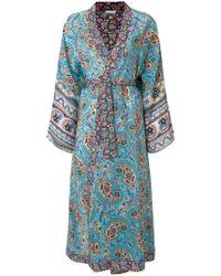 Anjuna - Floral Print Kimono Coat - Lyst