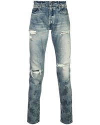 John Elliott - Ripped Distressed Jeans - Lyst