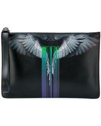 Marcelo Burlon - Wings Barcode Clutch Bag - Lyst