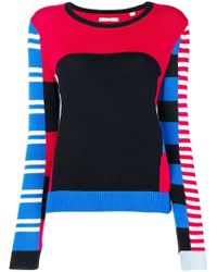 Chinti & Parker - Colour-block Striped Sweater - Lyst