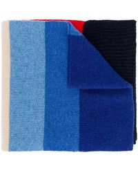 PS by Paul Smith - Rainbow Striped Scarf - Lyst