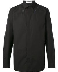Givenchy - Star Embroidered Shirt - Lyst