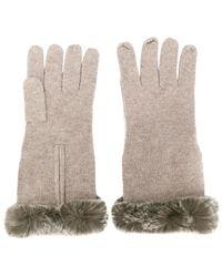 N.Peal Cashmere - Finger-less Gloves - Lyst