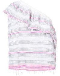 lemlem - Striped One Shoulder Top - Lyst