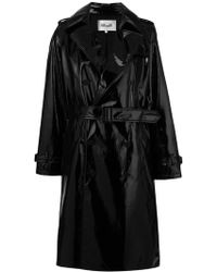 Diane von Furstenberg - Double Breasted Trench Coat - Lyst