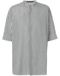 Haider Ackermann - Short Sleeved Striped Shirt - Lyst