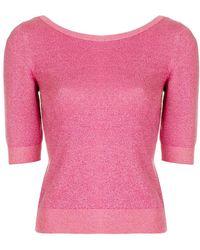 Moschino - Fine Knit Sweater - Lyst