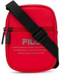 7c3b125fb9 Fila + Uo Dwyer Shoulder Bag in White - Lyst