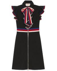 Gucci - Sleeveless Dress With Silvie Web - Lyst