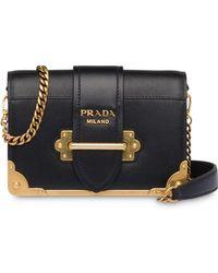 89a2a62784 Prada Cahier - Women's Prada Cahier Bags - Lyst
