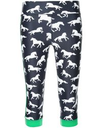 The Upside - Horse Print Cropped Leggings - Lyst