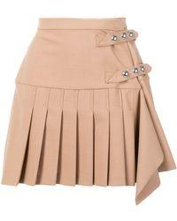 Pinko - Pleated Mini Skirt - Lyst
