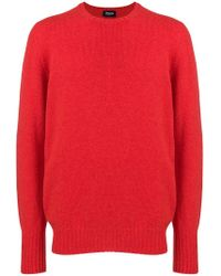 Drumohr - Long-sleeve Fitted Sweater - Lyst