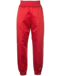 Undercover - High Waisted Track Pants - Lyst