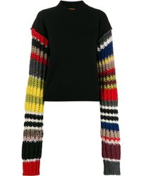 Colville - Striped Sleeve Sweater - Lyst