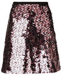 McQ - Short Sequined Skirt - Lyst
