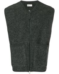 Universal Works - Front Pocket Zipped Vest - Lyst