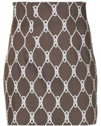 Manning Cartell - All-over Print Mini Skirt - Lyst