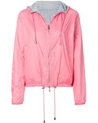 Emporio Armani - Hooded Lightweight Jacket - Lyst