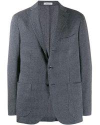 Boglioli Checked Tailored Blazer