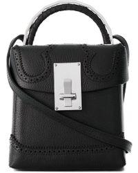 the VOLON - Cross Body Box Bag - Lyst