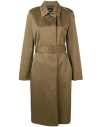 Theory - Clean Car Coat - Lyst
