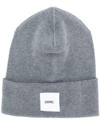 OAMC - Branded Beanie - Lyst