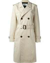 Saint Laurent - Classic Trench Coat - Lyst