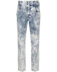 Jonathan Simkhai - Tie Dye Straight-leg Jeans - Lyst