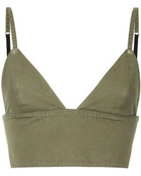 8e88c24630 T By Alexander Wang - Triangle Bralette Top - Lyst