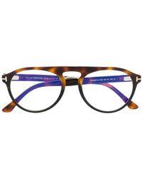 Tom Ford - Gafas de sol redondas - Lyst
