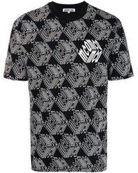 McQ - Monogram Print T-shirt - Lyst