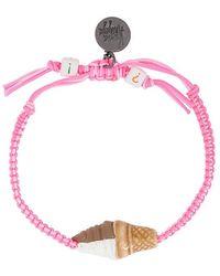 Venessa Arizaga - Ice Cream Cone Bracelet - Lyst