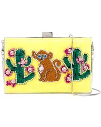 Gedebe - Cactus And Monkey Clutch - Lyst