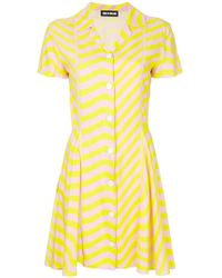 House of Holland - Hypnotic Shirt Dress - Lyst
