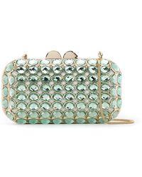 Isla - Maxi Crystal Clutch Bag - Lyst